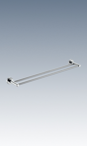 HMP801-02B Double-bar towel rack