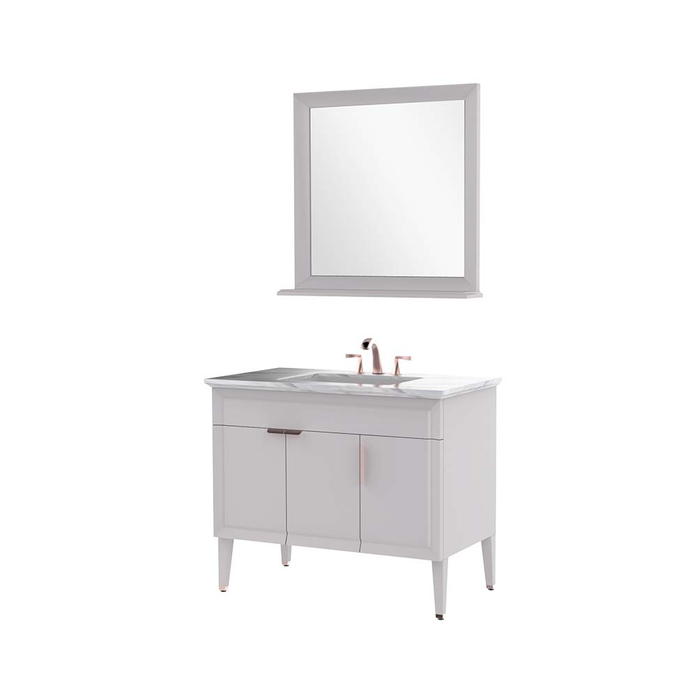HBT101006N-100 Solid wood bathroom cabinet